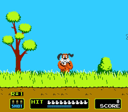 …Alright.  Hands up.  Who spent their childhood trying to shoot that !@#$in' dog?  Repeatedly.