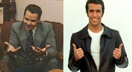 Is...that the Fonz?
